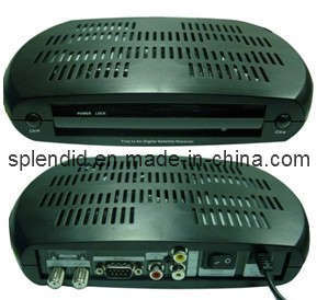 Digital Satellite Receiver DVB-S With Patch Morebox 301D