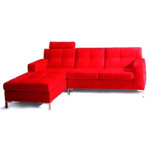 Modern Fabric Corner Sofa, Living Room Sofa (WD-2138)