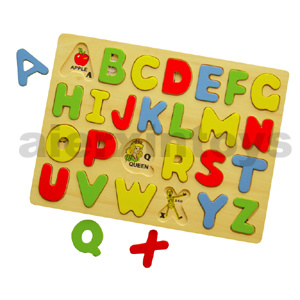 Wooden Capital Letter Puzzle (80118) pictures & photos