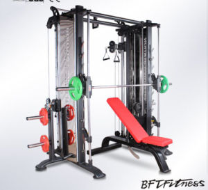 Multi Cable Crossover Gym Machine/Power Rack Smith Machine pictures & photos