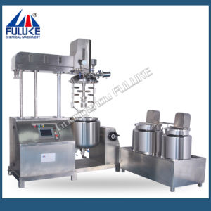 Body Lotion Cream Pharmaceutical Cosmetic Vacuum Emulsifying Machine pictures & photos