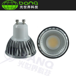 EU Design COB GU10 5W LED Bulb From ISO9001 China Manufacturer