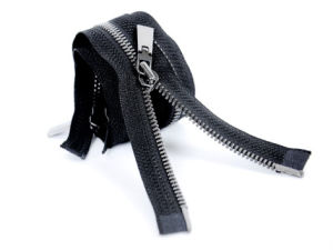 Metal Zipper with Two-Way Slider Open End (HVV-0094)