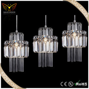 Decoration Lighting of Restaurant Modern Crystal Pendant Light (MD7099)