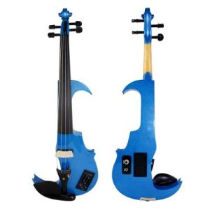BV/SGS Certificate Supplier---China Black Color All Solid Electric Violin pictures & photos