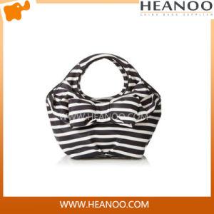 China Wholesale Trendy Fashion Korean Stlyle Polyester Branded Ladies′ Handbag pictures & photos