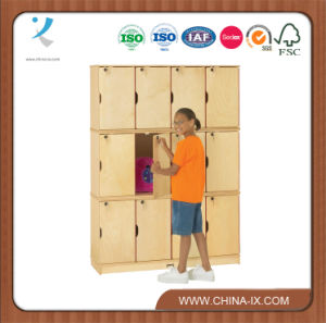 """Triple Stacking Kids Lockers with 15"""" Deep Compartments pictures & photos"""