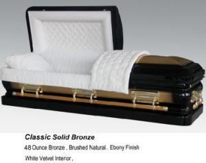 Classic 48oz Solid Bronze Casket