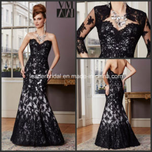 Lace Jacket Evening Dresses Black Mother of The Bride Dresses M71034 pictures & photos