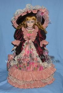 "20"" Porcelain Victorian Doll (A587A)"