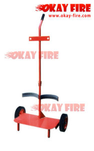 Okayfire Fire Extinguisher Trolley