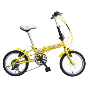"16"" Steel Frame Folding Bike with Shimano 6sp"