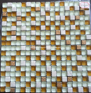 Stone Mix Crystal Glass Mosaic (HGM361) pictures & photos