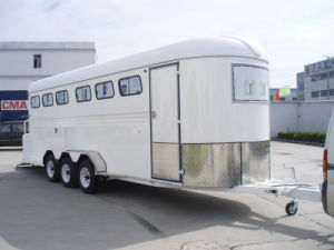 6 Horse Trailer 6horse Floats China Imported (GW-6HAL) pictures & photos