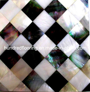 Mother of Pearl Shell Mosaic Tile (HMP65) pictures & photos