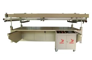 Large-Scale High Precision Flat Screen Printer