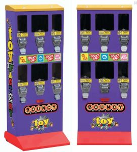 "Large ""6-in-1"" Versatile Bulk Candy, Gumball & Capsule Vending Machine (TR620B) pictures & photos"
