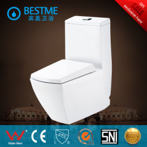 Floor Mounted Siphonic One Piece Toilet with Best Price (BC-2024) pictures & photos