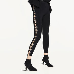 Ladies Fashion Sexy Bandage Jeggings Preppy Pants pictures & photos