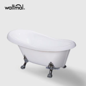 Cupc Color Clawfoot Freestanding Acrylic Bathtubs pictures & photos