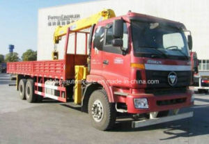 3 Axles 10 Tons Truck with Crane for Sale pictures & photos
