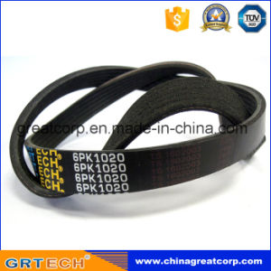 6pk1020 Auto Parts Ribbed V-Belt with Cheap Price pictures & photos