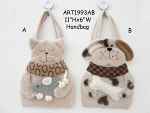 Fleece Cat&Dog Party Decoration Handbag-2asst pictures & photos