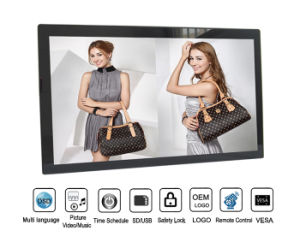 Vesa Wall Mount 32inch Digital Photo Picture Frame Full HD 1080P pictures & photos