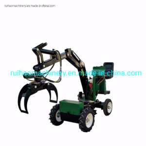 Low Price Mini Wheel Loader Excavator with Ce Certificate