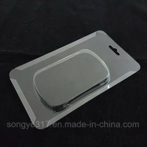 PVC Transparent Disposable Mobile Power Plastic Packaging Tary pictures & photos