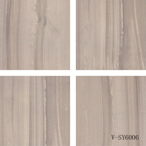 Indoor Four Faces Matt Porcelain Grey Polished Marble Floor Tile (600X600mm) pictures & photos