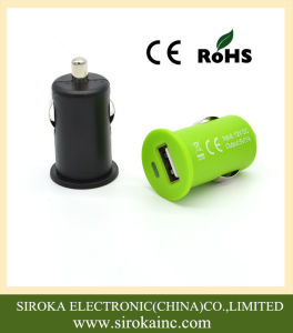 Mobile Phone Single USB Car Charger with LED Indicator pictures & photos