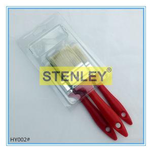 Plastic Handle Paint Brush Set Brush pictures & photos