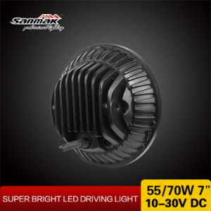 7 Inch 70W DOT Hi-Low Beam Round LED Headlight for Jeep pictures & photos