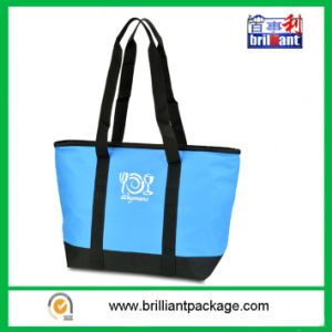 Custom Promotional Ice Bag 600d Beach Tote Thermal Lunch Walker Cooler Bag pictures & photos