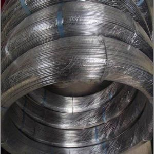 45kg 250kg 450kg/Coil 2.37*2.57mm 75g Galvanized Oval Fence Wire pictures & photos