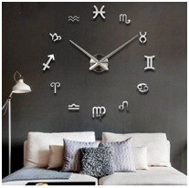 Wholesale European Modern Wall Clock Sitting Room Creative DIY Clock