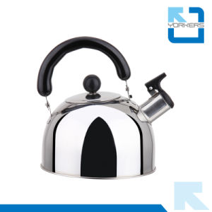 Hot Sale 1/2/3/4L Stainless Steel Whistling Kettle Kitchen Water Kettle pictures & photos
