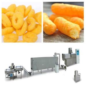 Popular Cheap Corn Puff Snack Making Machine pictures & photos