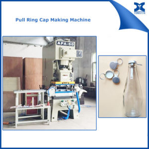 Glass Bottle Metal Pull Ring Cap Punch Press Machine pictures & photos