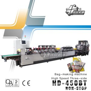 High Speed Bag-Seal Bag-Making Machinehd-450bt pictures & photos
