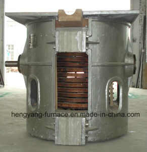 1t-Scarp Stainless Steel Induction Melting Furnace pictures & photos