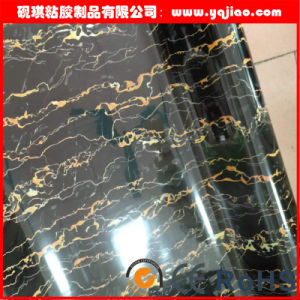 High Glossy Grain High Grade Kitchen Cabinet Surface Laminating Membrane PVC Sheet pictures & photos