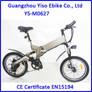 20 Inch Folding Lithium Battery Electric Mountain Bike pictures & photos