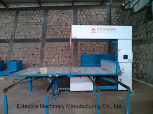 Fully Automatic Vertical Machine for Cutting Sponge Polyurethane Foam pictures & photos