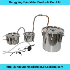 18L/5gal Stainless Steel Household portable Home Laboratory Water Distiller pictures & photos