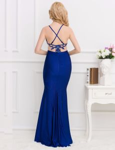 Top New Designs Super Customized OEM Services Wholesale Brand Sequined Long Prom Dresses pictures & photos