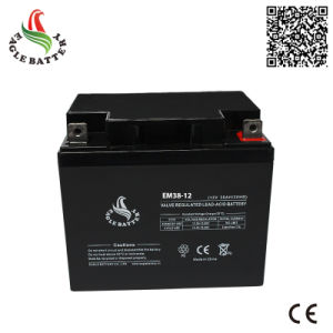 12V 38ah VRLA Lead Acid Battery for Solar Street Light