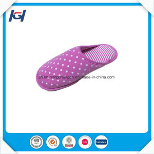 Cheap Wholesale Women Plain House Slippers in China pictures & photos