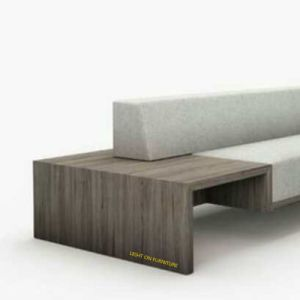 Wooden Frame Armrest Modern Fabric Sofas for Hotel (F1116) pictures & photos
